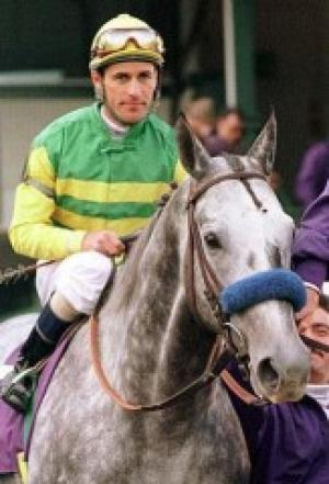 Silver Charm Retires to Old Friends