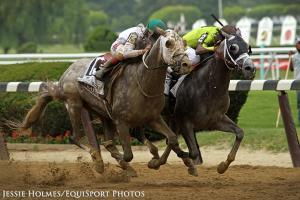 WHAT IS THE MOST RECENT HORSE TO WIN THE ARKANSAS DERBY AND WIN A TRIPLE CROWN RACE?