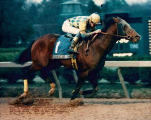 WHO WAS THE FIRST FEMALE JOCKEY TO WIN THE PENNSYLVANIA DERBY?